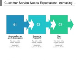 Customer Service Needs Expectations Increasing Profitability Marketing Reporting Measurement Cpb