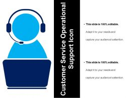 Customer Service Operational Support Icon