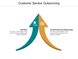 Customer Service Outsourcing Ppt Powerpoint Presentation File Rules Cpb