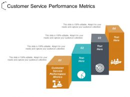 Customer Service Performance Metrics Ppt Powerpoint Presentation File Layout Cpb
