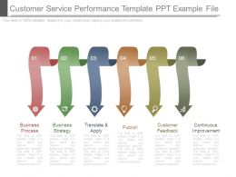 Customer Service Performance Template Ppt Example File