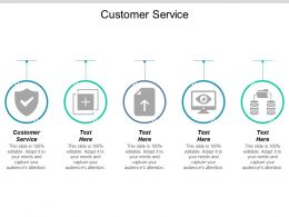 Customer Service Ppt Powerpoint Presentation Icon Templates Cpb