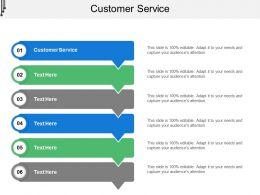 Customer Service Ppt Powerpoint Presentation Slides Summary Cpb