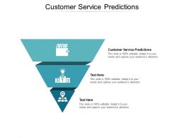 Customer Service Predictions Ppt Powerpoint Presentation Show Professional Cpb