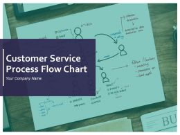 Customer Service Process Flow Chart PowerPoint Presentation Slides