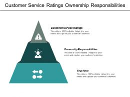 Customer Service Ratings Ownership Responsibilities Business Process Simplification Cpb