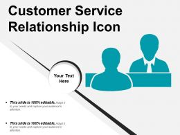 Customer Service Relationship Icon