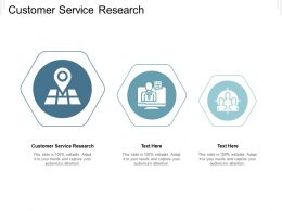 Customer Service Research Ppt Powerpoint Presentation Gallery Designs Cpb