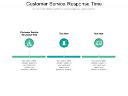 Customer Service Response Time Ppt Powerpoint Presentation Styles Aids Cpb