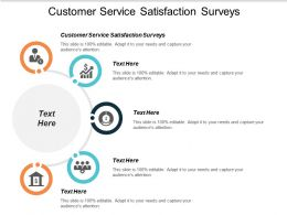 Customer Service Satisfaction Surveys Ppt Powerpoint Presentation Icon Graphic Images Cpb