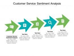 Customer Service Sentiment Analysis Ppt Powerpoint Presentation Inspiration Graphics Cpb