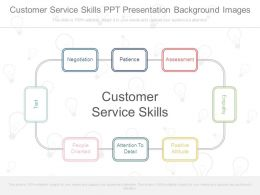 Customer Service Skills Ppt Presentation Background Images