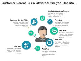 Customer Service Skills Statistical Analysis Reports Interpersonal Assessment Cpb