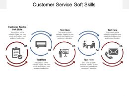 Customer Service Soft Skills Ppt Powerpoint Presentation File Graphics Cpb