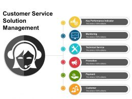 Customer Service Solution Management