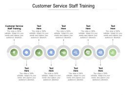 Customer Service Staff Training Ppt Powerpoint Presentation Professional Examples Cpb