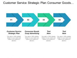 Customer Service Strategic Plan Consumer Goods Coop Advertising Cpb
