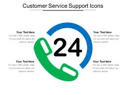 Customer Service Support Icons