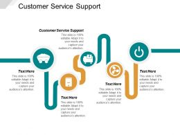 Customer Service Support Ppt Powerpoint Presentation Ideas Example Topics Cpb