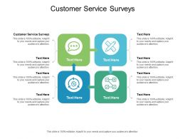 Customer Service Surveys Ppt Powerpoint Presentation Ideas Picture Cpb