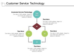 Customer Service Technology Ppt Powerpoint Presentation File Sample Cpb