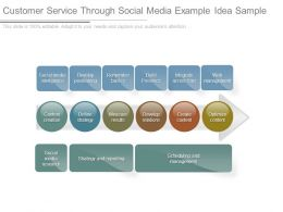Customer Service Through Social Media Example Idea Sample