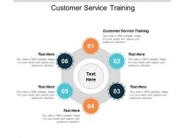 Customer Service Training Ppt Powerpoint Presentation Infographics Files Cpb
