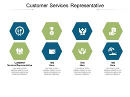 Customer Services Representative Ppt Powerpoint Styles Background Designs Cpb