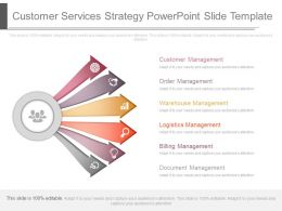 Customer Services Strategy Powerpoint Slide Template