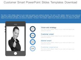 Customer Smart Powerpoint Slides Templates Download