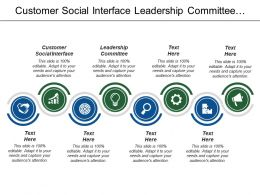 Customer Social Interface Leadership Committee Provides Performance Reporting