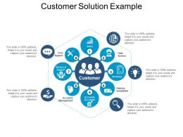 Customer Solution Example