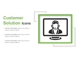 Customer Solution Icons