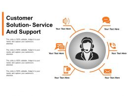 Customer Solution Service And Support