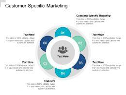 Customer Specific Marketing Ppt Powerpoint Presentation File Design Ideas Cpb