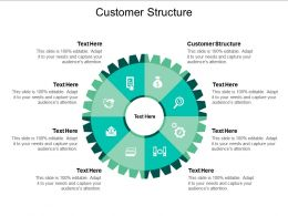 Customer Structure Ppt Powerpoint Presentation Show Inspiration Cpb