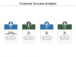 Customer Success Analytics Ppt Powerpoint Presentation Gallery Skills Cpb
