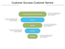 Customer Success Customer Service Ppt Powerpoint Presentation Outline Show Cpb