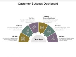 Customer Success Dashboard Ppt Powerpoint Presentation Icon Visual Aids Cpb