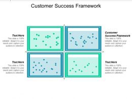 Customer Success Framework Ppt Powerpoint Presentation Icon Guide Cpb