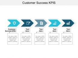 Customer Success KPIS Ppt Powerpoint Presentation Inspiration Demonstration Cpb