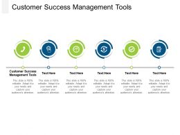 Customer Success Management Tools Ppt Powerpoint Presentation File Graphics Cpb