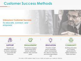 Customer Success Methods Powerpoint Slide Deck Template