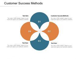 Customer Success Methods Ppt Powerpoint Presentation Styles Slideshow Cpb
