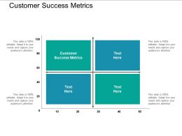 Customer Success Metrics Ppt Powerpoint Presentation Styles Background Image Cpb