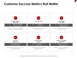 Customer Success Metrics That Matter Acquisition Ppt Powerpoint Presentation Styles Guidelines