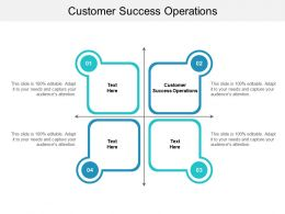 Customer Success Operations Ppt Powerpoint Presentation Slides Infographic Template Cpb