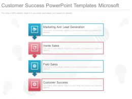 Customer Success Powerpoint Templates Microsoft