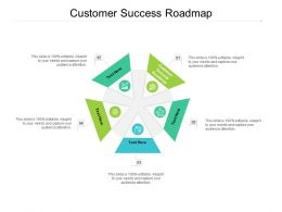 Customer Success Roadmap Ppt Powerpoint Presentation Pictures Layout Ideas Cpb