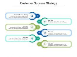 Customer Success Strategy Ppt Powerpoint Presentation Portfolio Template Cpb